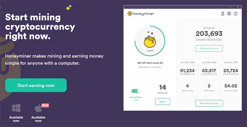 honeyminer bitcoin mining