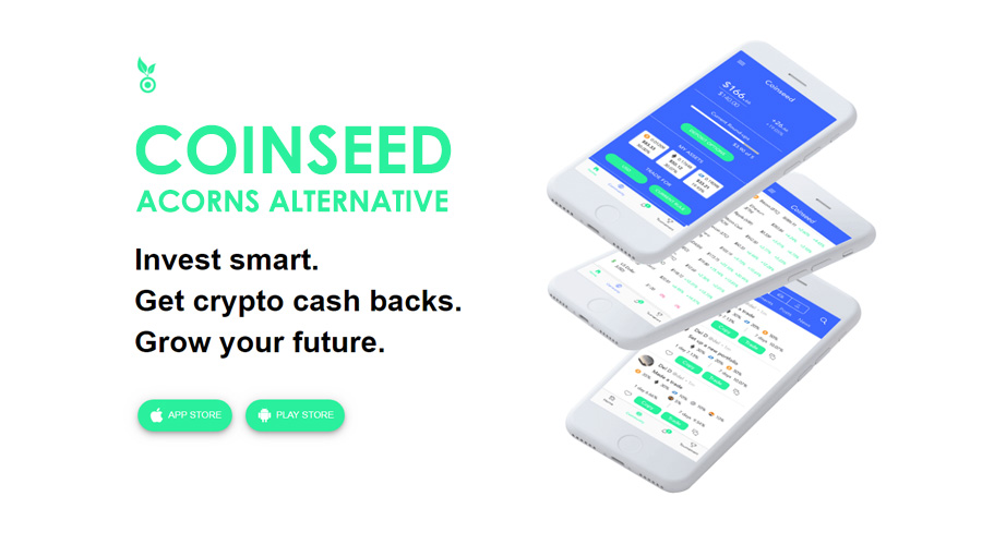 Coinseed Crypto Cash Backs