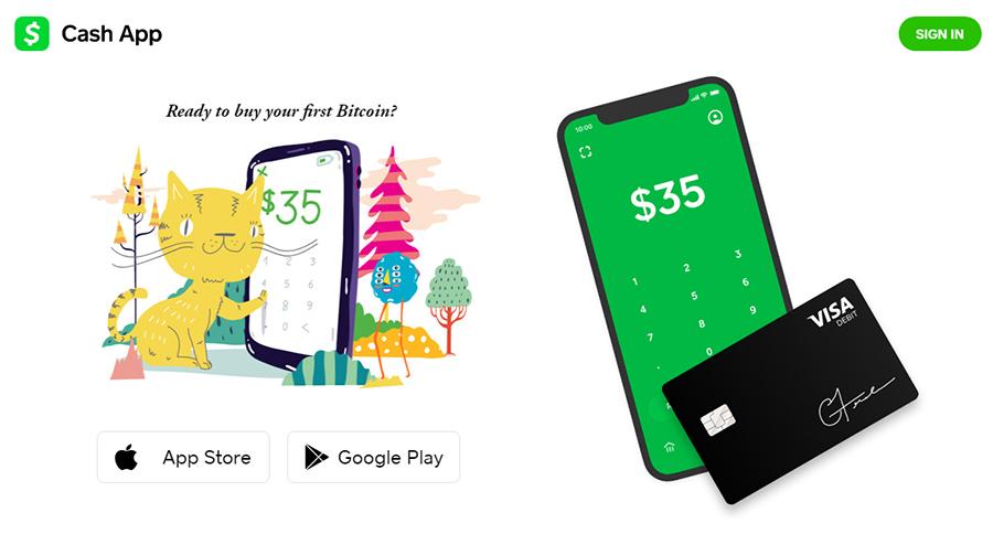 Cashapp - Bitcoin & Stock Investment Platform