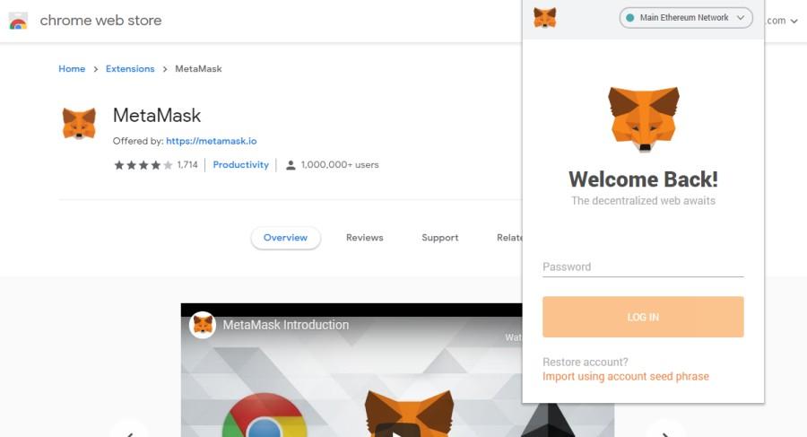 Metamask Browser Extension 02