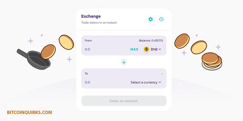 bnb pancakeswap exchange