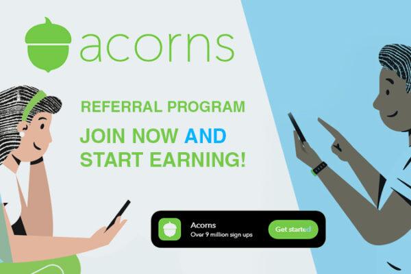 acorns referral program
