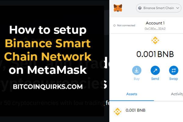 how to setup binance smart chain network on metamask