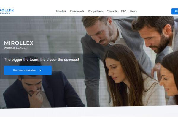 mirollex - bitcoin investing
