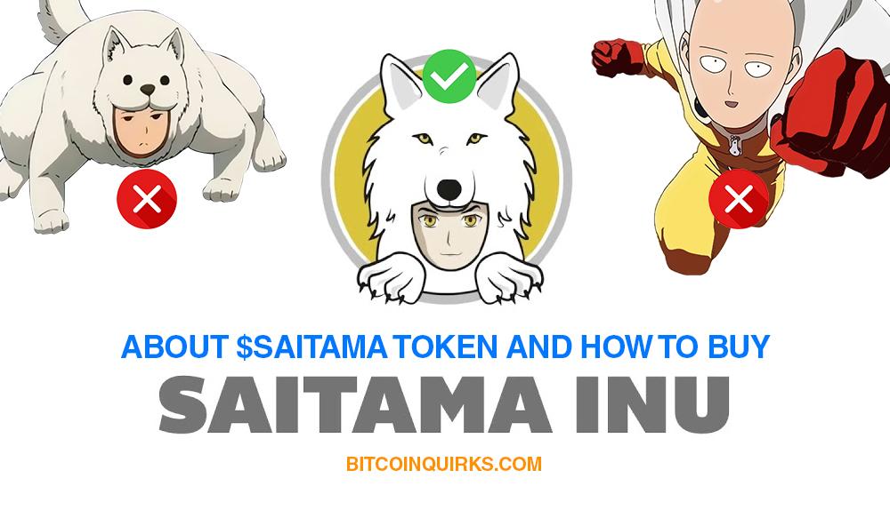 saitama inu about $saitama token & how to buy on uniswap