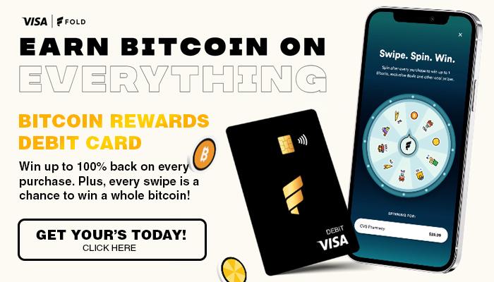 fold app - bitcoin debit card